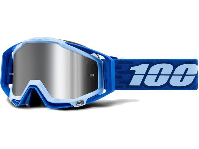 100% Racecraft Plus Injected Mirror Goggles Jiva